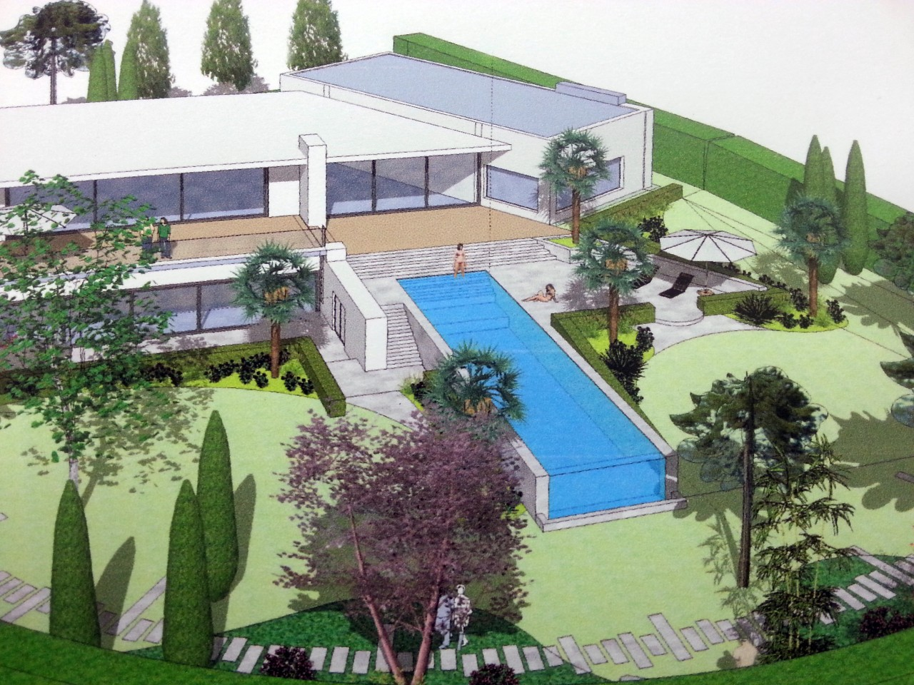 Modélisation de jardins en 3 dimensions