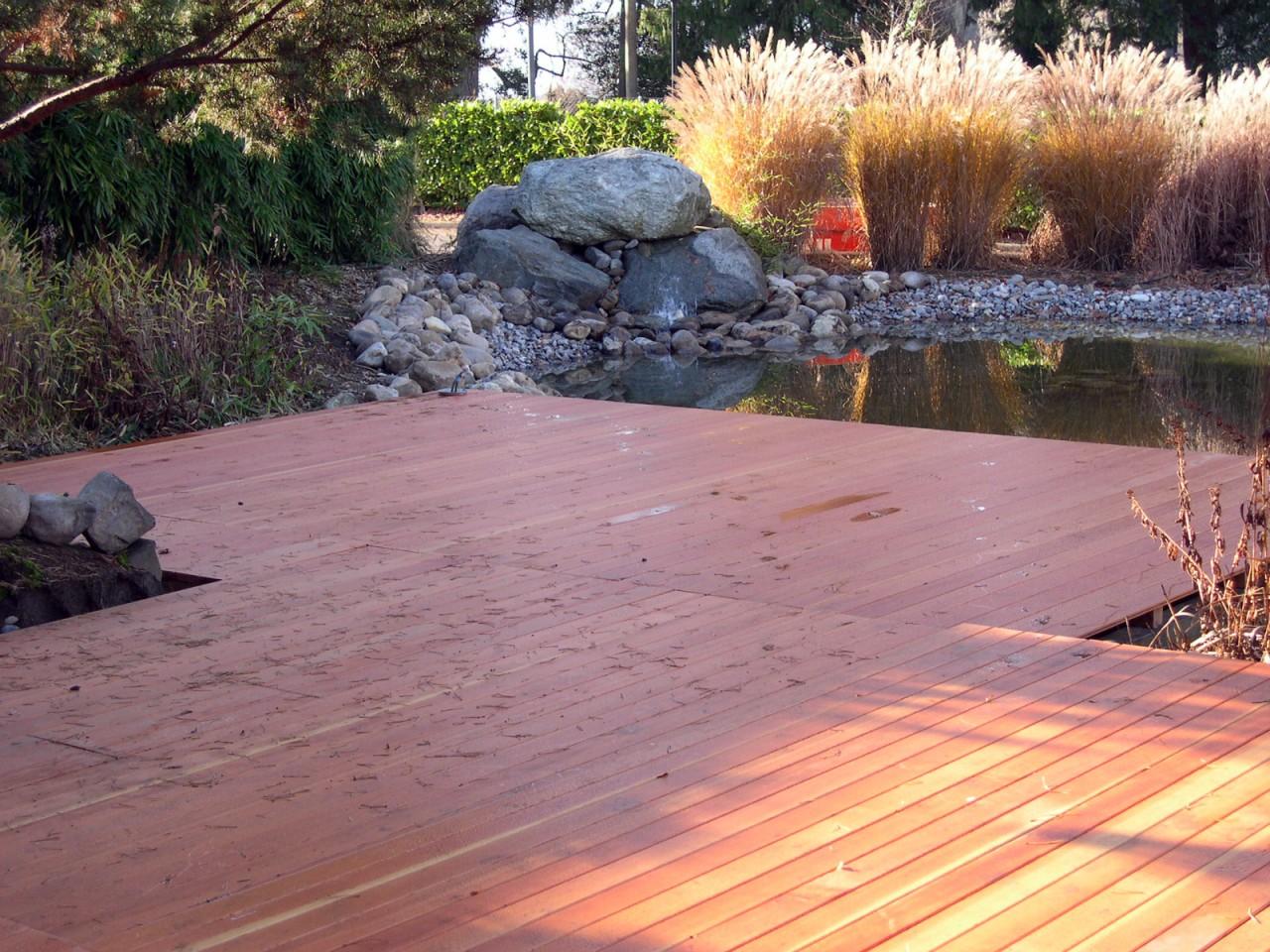 Pose de terrasses en bois